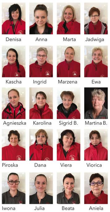Das Housekeeping-Team des Norderney Zimmservice