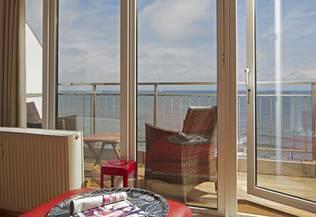 Ferienwohnungen auf Norderney mit Meerblick