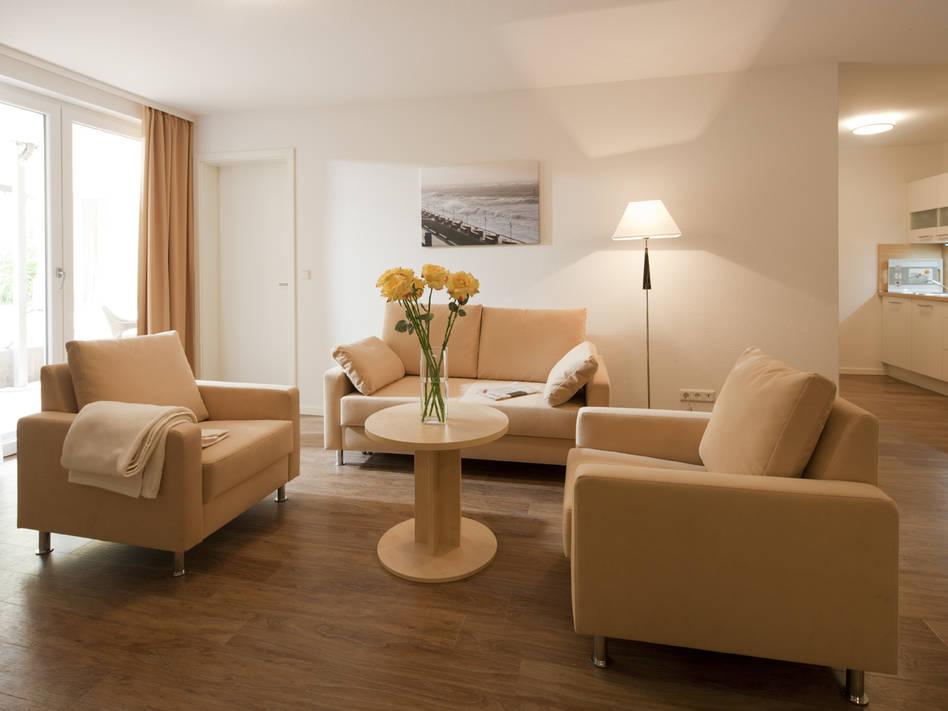 Ferienwohnung Exquisit 2 - Norderney Zimmerservice