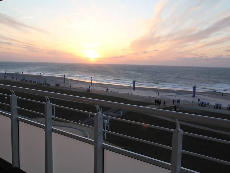 Norderney Ferienwohnung Nordseeblick 25 SunSet Bild 1