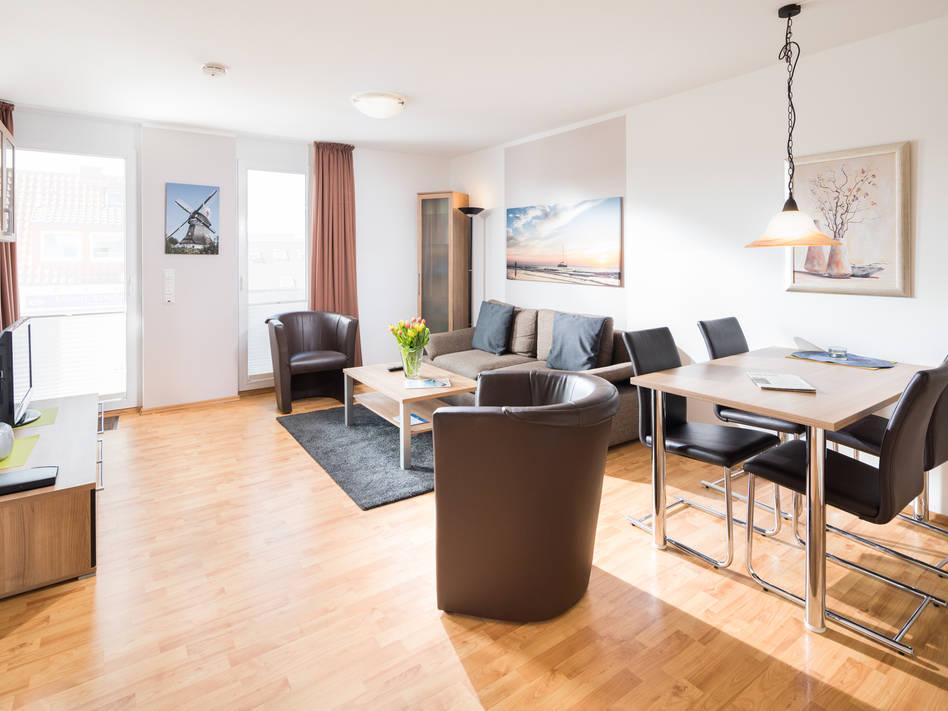Norderney Ferienwohnung Winterstraße 17 - Opal Bild 1