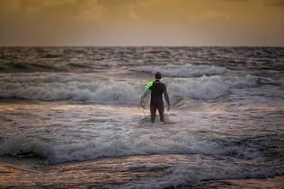 Surfen auf Norderney
