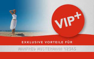 VIP+ Bonuskarte des Norderney Zimmerservice
